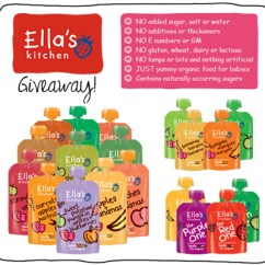 Ellas Kitchen Baby Food Pans Busy In Brooklyn Blog Archive Gourmet Ella S This Giveaway Includes A Package Of Assorted Including