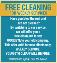 Cleaning Specials - Elizabeth City Maid Services, Cleaning ...