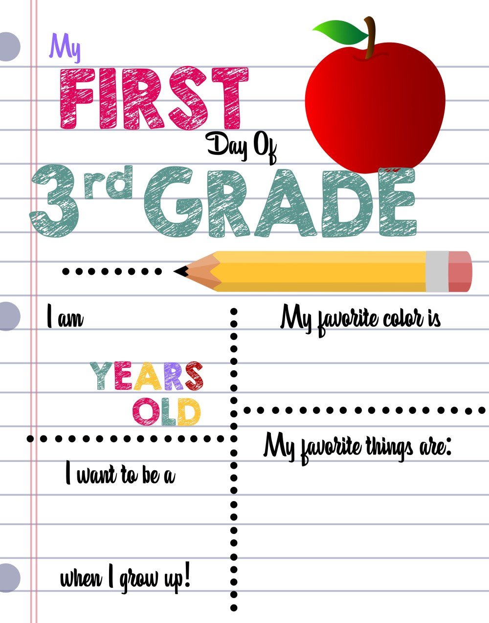 medium resolution of First Day of School Printable Sign Custom Print Outs - Busy Loving Life