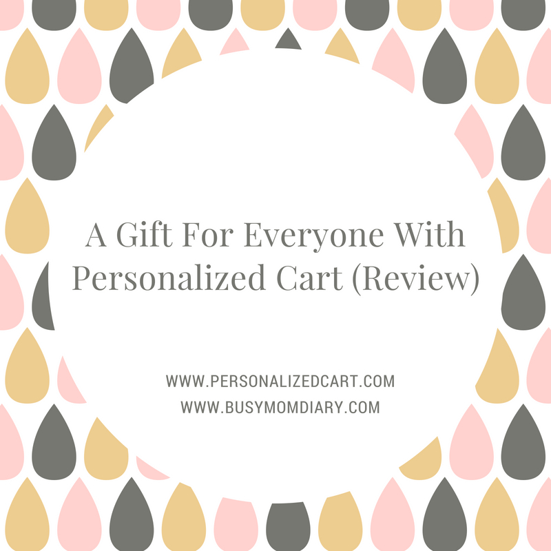 8830cd0499c8 A Gift For Everyone With Personalized Cart (Review)