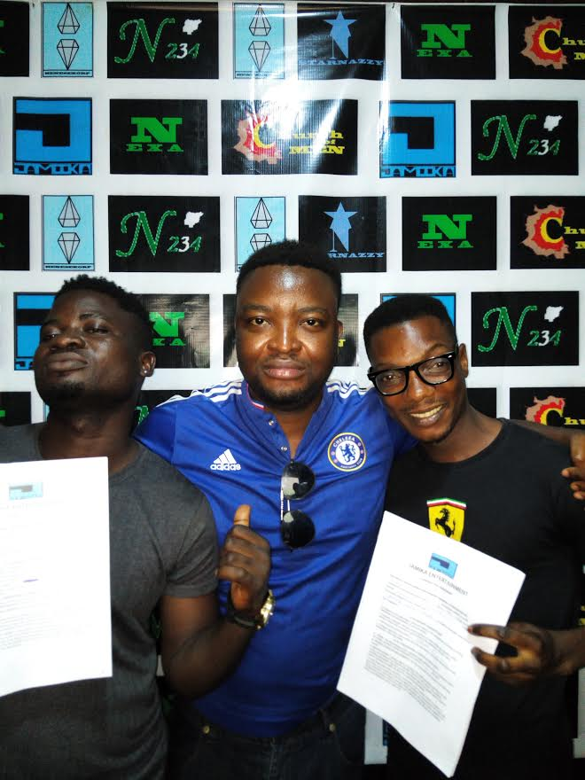 "Jamika Entertainment Signed ""Basebaba and 3 New Artistes"""