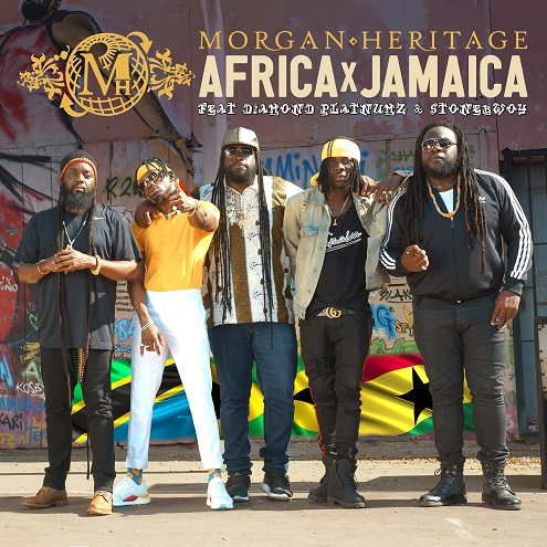 "Exclusive: Morgan Heritage Coming Out With Africa's Next Biggest Hit: ""Africa Jamaica"" Feat. Diamond Platnumz & Stonebwoy"