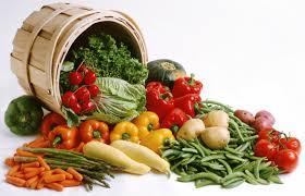 vegies from baquet