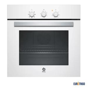 Horno de cocina para gas butano o propano de color blanco marca Balay