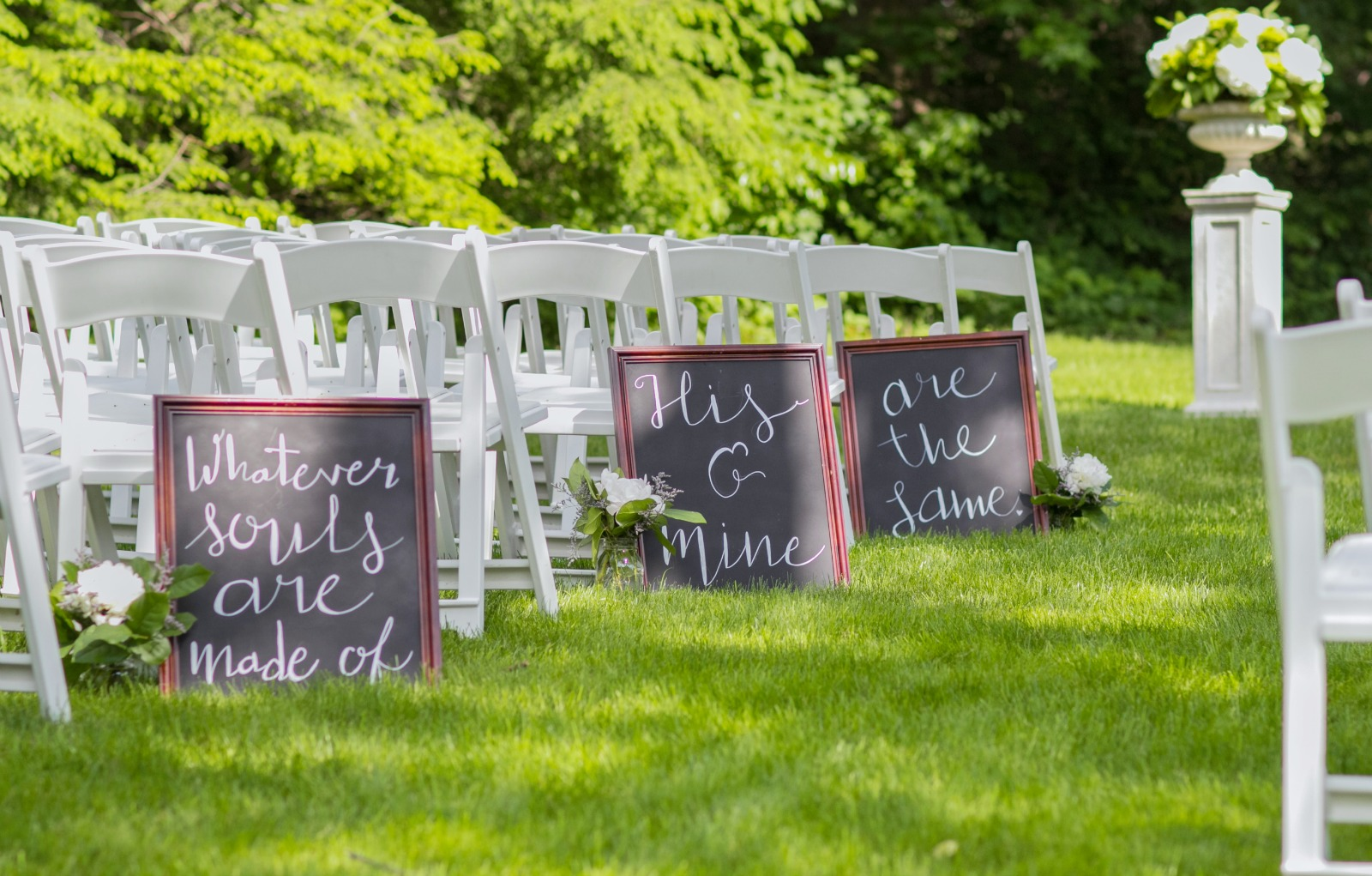 how to plan a backyard wedding things you u0027ll want to know