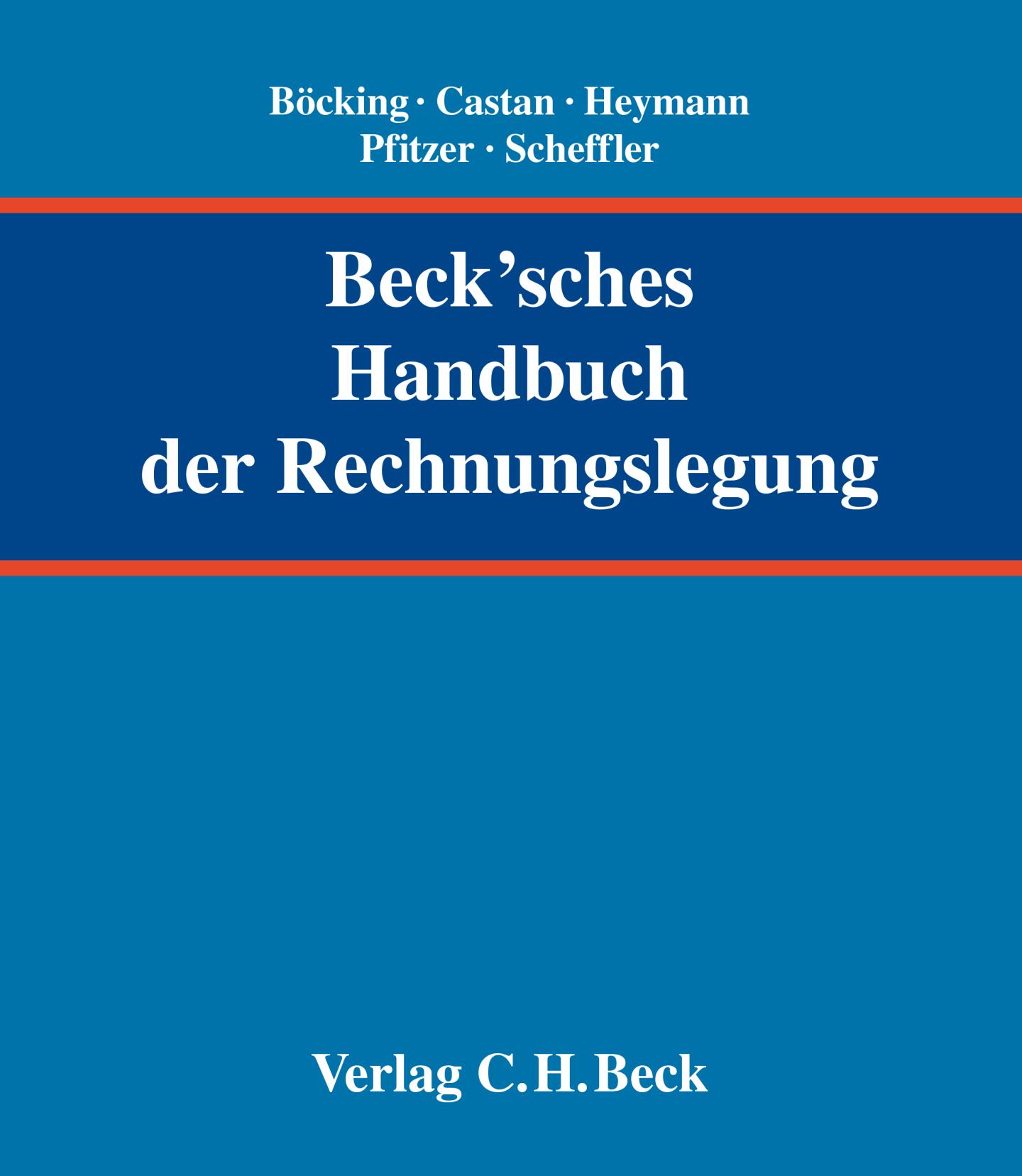 Cover Becksches Handbuch der Rechnungslage