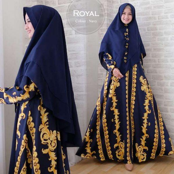 Baju Muslim Modern Royal Syari Maxmara Gamis Pesta Syari