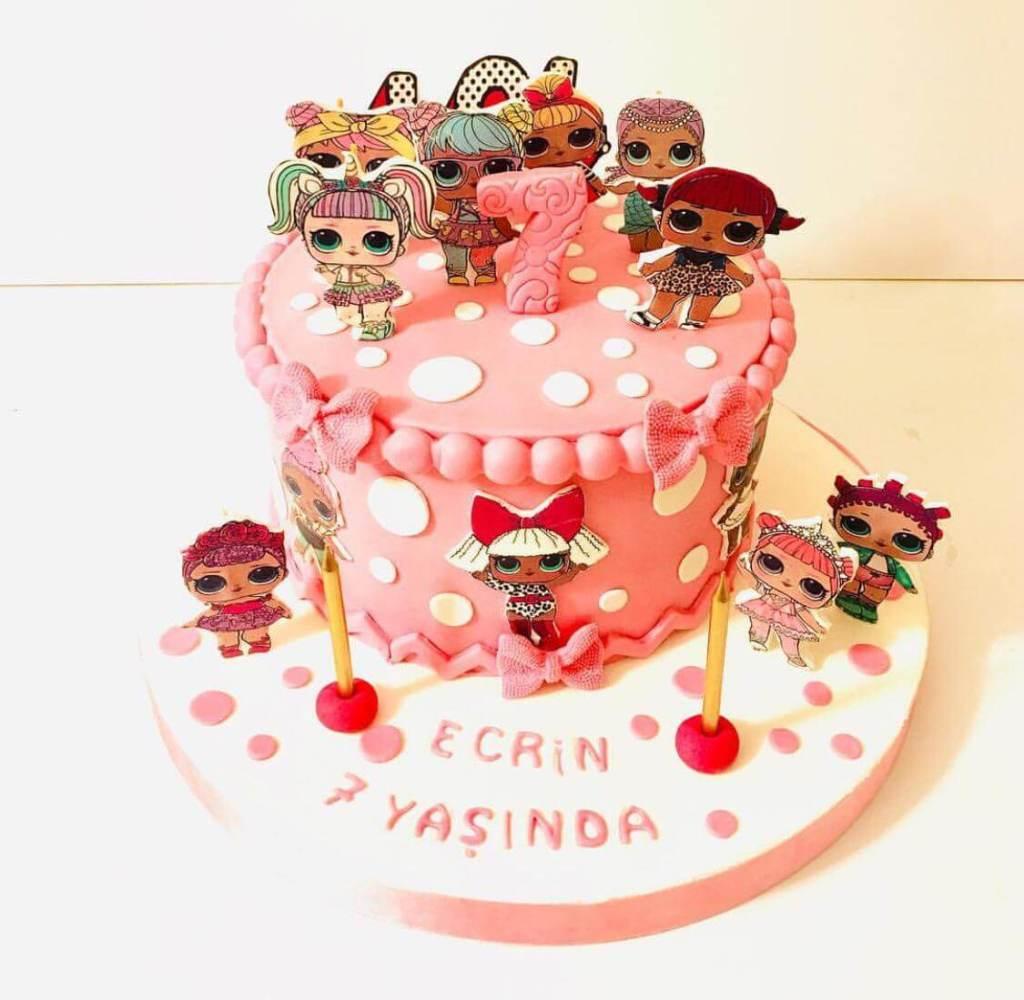 lol bebek pastası