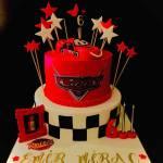 arabalar temalı pasta