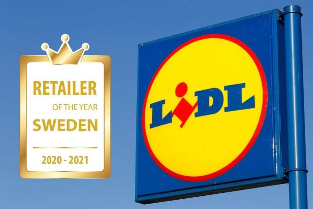 Lidl korat till årets bästa butikskedja