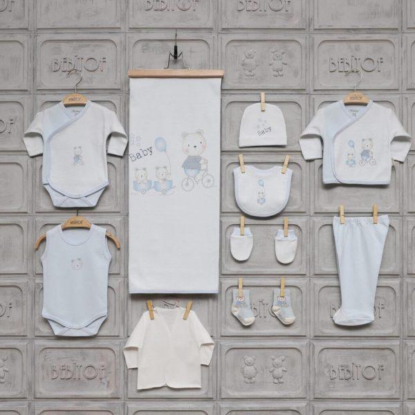 bebitof yenidogan kiz bebek tavsancik hastane cikisi pembe 01 scaled - Bebitof Erkek Bebek Gezideki İkizler 10'lu Hastane Çıkışı