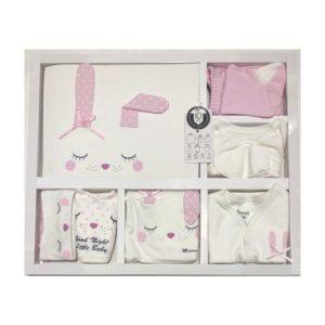 Miniworld Kız Bebek Tavşan Kulak 10lu Hastane Çıkışı Pembe 04 scaled - Miniworld Kız Bebek Tavşan Kulak 10'lu Hastane Çıkışı - Pembe