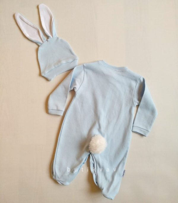 erkek bebek tavsan kulak tulum seti 6 9 ay 02 scaled - Erkek Bebek Tavşan Kulak Tulum Seti 6-9 Ay