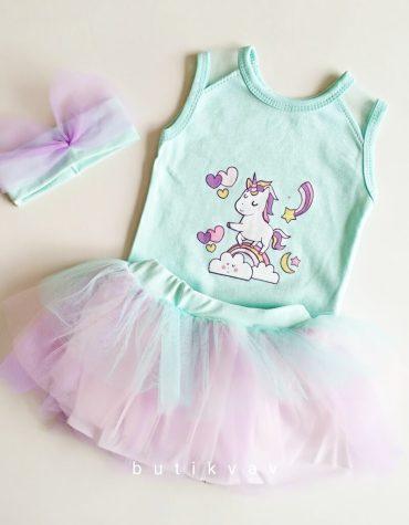 0 3 ay kiz bebek tutu etek takim 3 lu set 01 scaled - 3-6 Ay Kız Bebek Unicorn Tütü Etek Takım 3'lü Set
