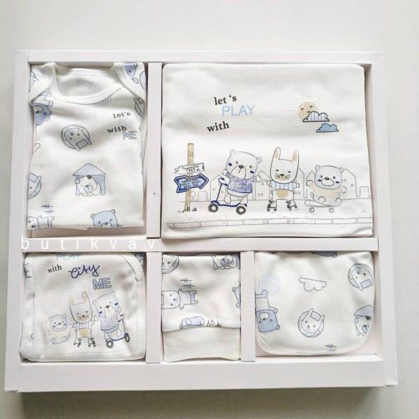 erkek bebek hayvan dostlar 5 li hastane cikisi kopya 02 scaled - Erkek Bebek Sevimli Hayvanlar 10'lu Hastane Çıkışı