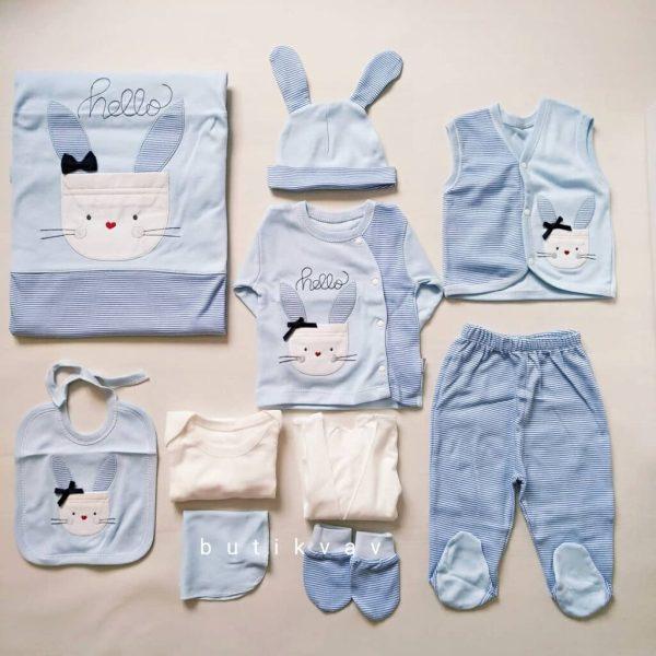 gaye tonton bebe 10 lu hastane cikisi zibin seti 02 scaled - Gaye Tonton Bebe 10'lu Hastane Çıkışı Zıbın Seti
