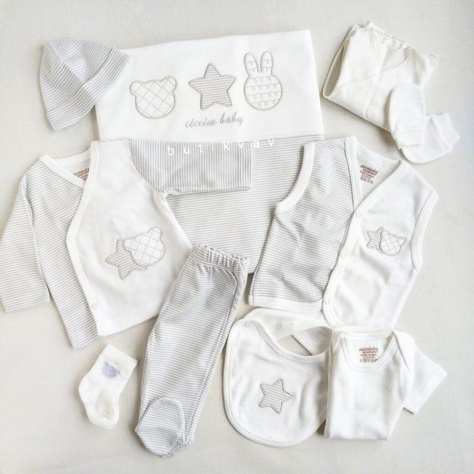 ciccim baby unisex cizgili 10 lu hastane cikisi 01 scaled - Ciccim Baby Unisex Çizgili 10'lu Hastane Çıkışı
