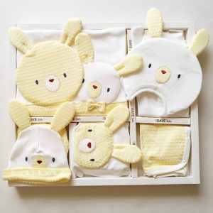 gaye bebe tavsan kafa 10 lu hastane cikisi sari 01 scaled - Gaye Bebe Tavşan Kafa 10'lu Hastane Çıkışı Sarı