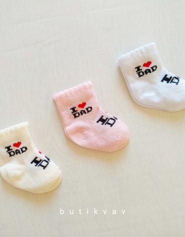 yenidogan kiz bebek 3 lu corap 01 scaled - Yenidoğan Kız Bebek 3'lü Çorap