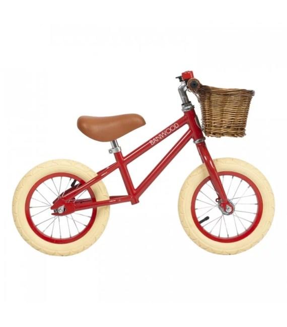 Banwood First go balanscykel röd