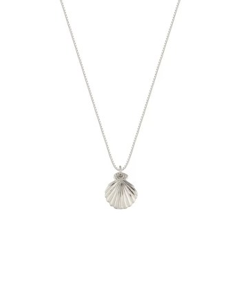 Syster P halsband beaches shell silver