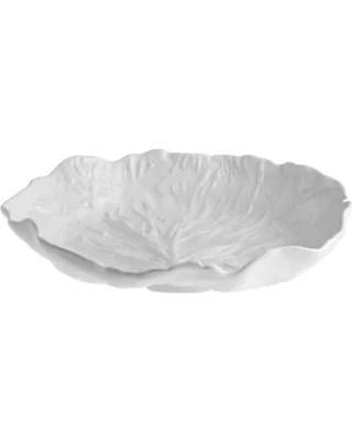 Bordallo Pinheiro Cabbage Skål 32.5cm Beige