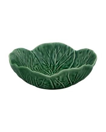 Bordallo Pinheiro Cabbage skål 15cm grön