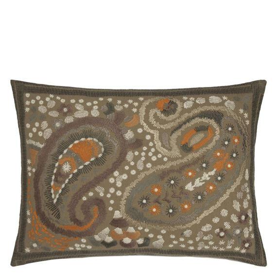 Designers Guild Kudde Uchiwa Ochre Cushion