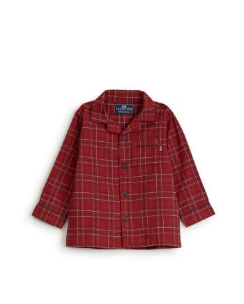 Lexington Kids Checked Flannel Pajama