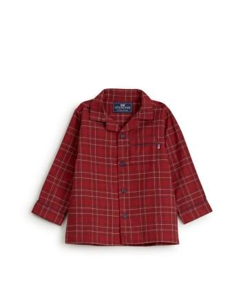 Lexington Kids Checked Flannel Pajama