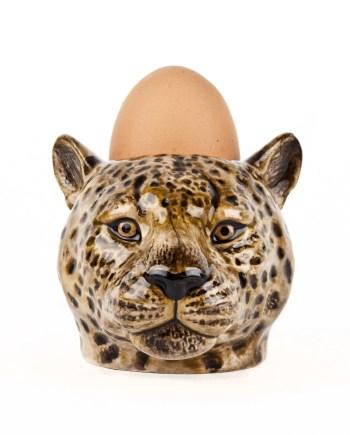 Quail Äggkopp Leopard