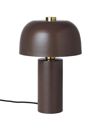 Cozy Living Bordslampa Lulu Mahogany