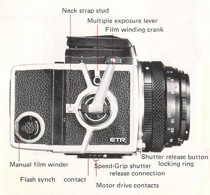 Bronica ETR camera manual