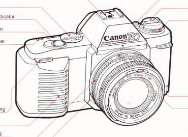 Canon t50 instruction manual, user manual, PDF manual
