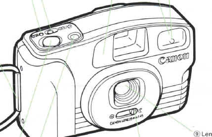 Canon Snappy LX instruction manual, user manual, PDF