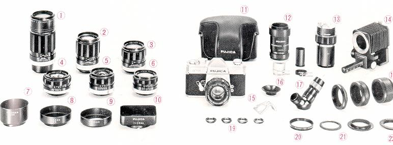 Fujica ST701 camera manual, user manual