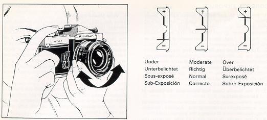 photocore: Manuale d'uso Fujica STX-1