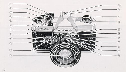 Fujica STX-1n Instruction manual, Fujica MPF105X user manual