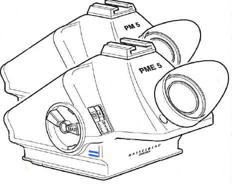 Hasselblad PME5 instruction manual, user manual, free PFD