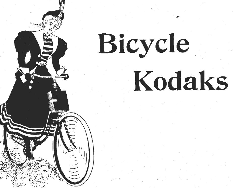 Bicycle Kodaks, kodak bicycle cameras instruction manual