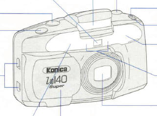 Konica Z-up 140 Super instruction manual, user manual, PDF