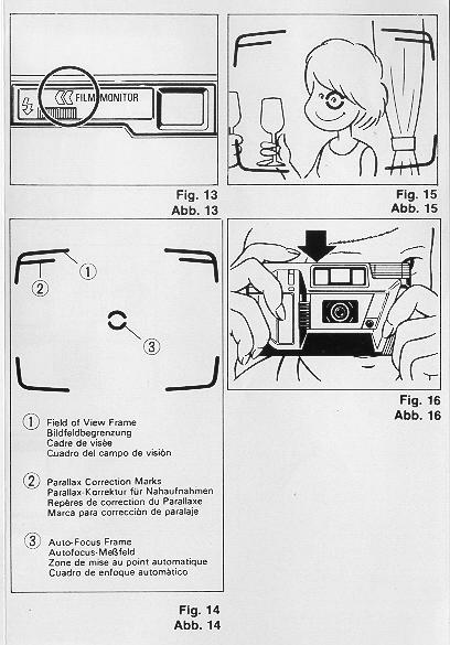 Ricoh AF 55 instruction manual, user guide