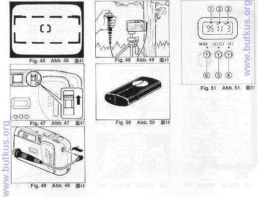 Ricoh FF-20 camera instruction manual, user manual, PDF