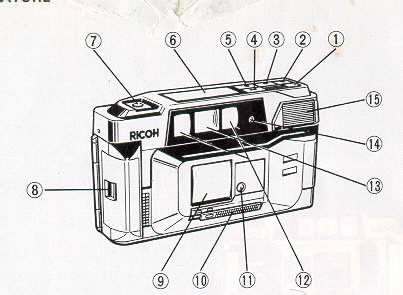 Ricoh FF-90 instruction manual