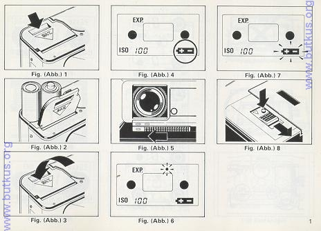 Ricoh FF 70 instruction manual