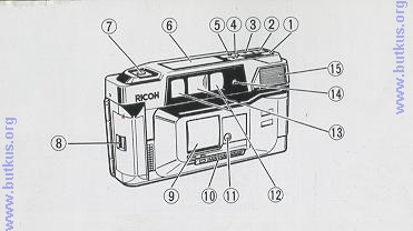 Ricoh FF 70 user manual, instruction manual