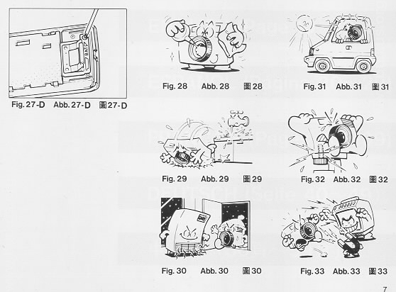 Ricoh LX-22 camera manual, instruction