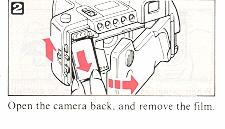 Ricoh Mirai 105 camera manual, instruction