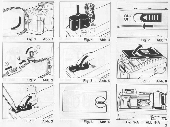 Ricoh Mirai Zoom 3 instruction manual
