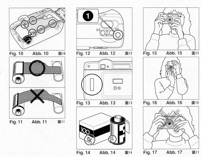 ricoh RZ-770 camera manual, instruction